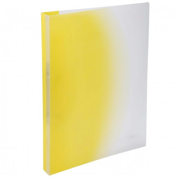 Ringbuch gelb