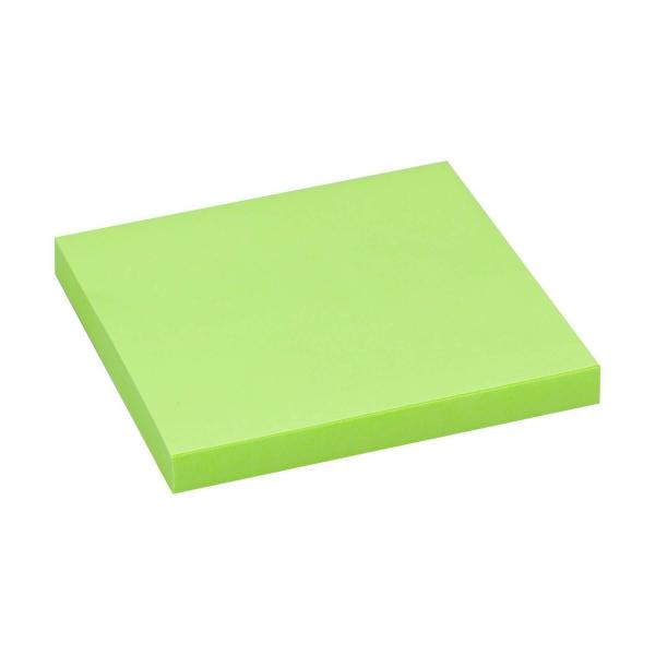 Haftnotizen 75x75 neon grün   80 Blatt