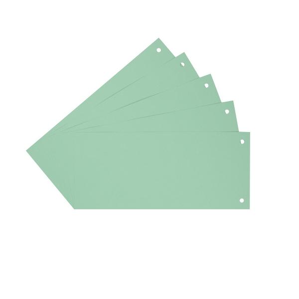 Trennstreifen Trennblätter grün | 100 Stück