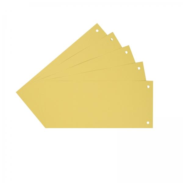 Trennstreifen Trennblätter gelb | 100 Stück