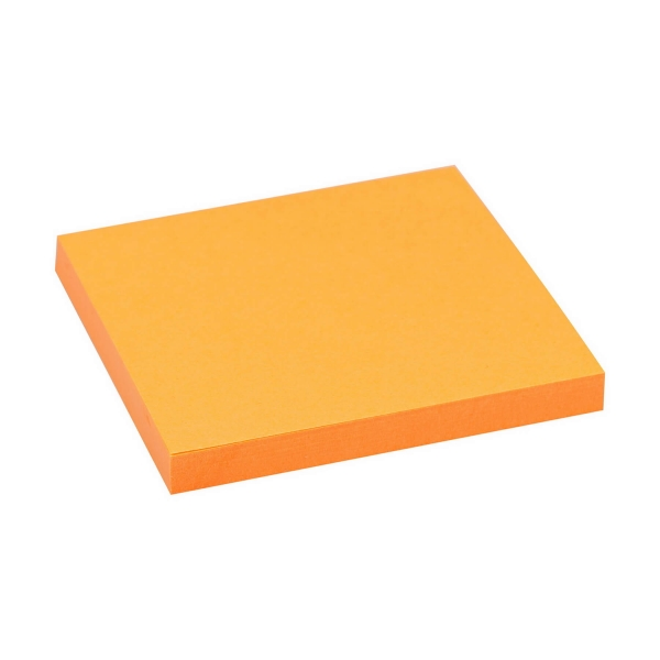 Haftnotizen 75x75 neon orange | 80 Blatt