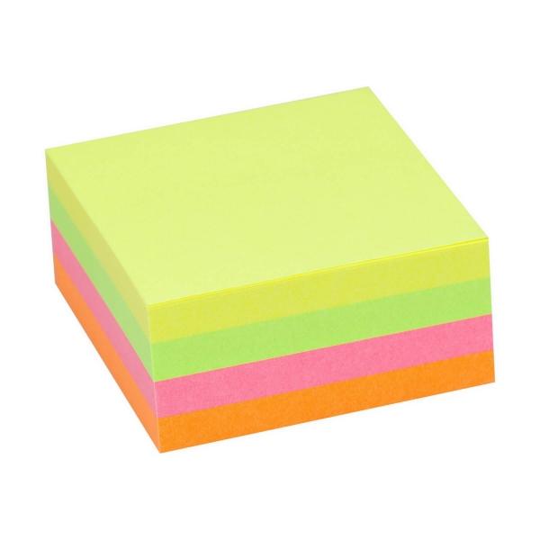 Haftnotizwürfel 50x50 neon   240 Blatt