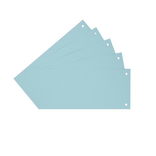 Trennstreifen Trennblätter blau | 100 Stück