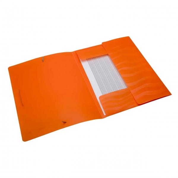 Eckspanner A4 neon orange