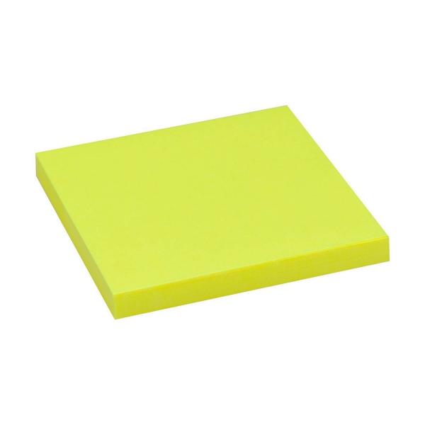 Haftnotizen 75x75 neon gelb | 80 Blatt