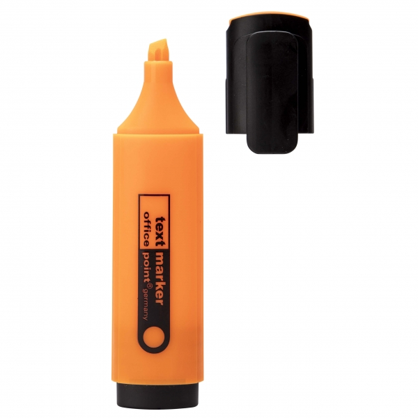 Textmarker orange