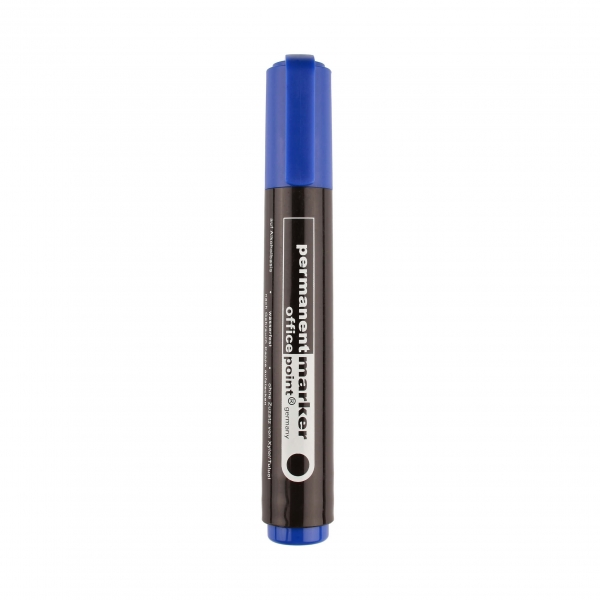 Permanentmarker 2 - 5mm blau
