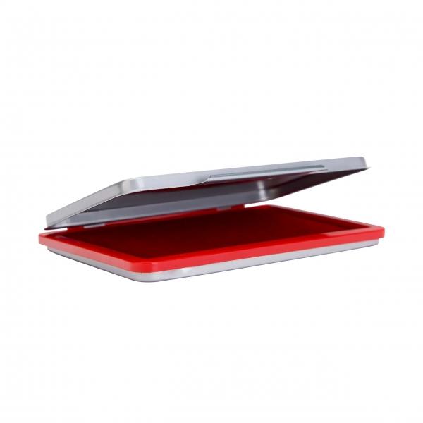 Stempelkissen Metall N2 vorgetränkt rot