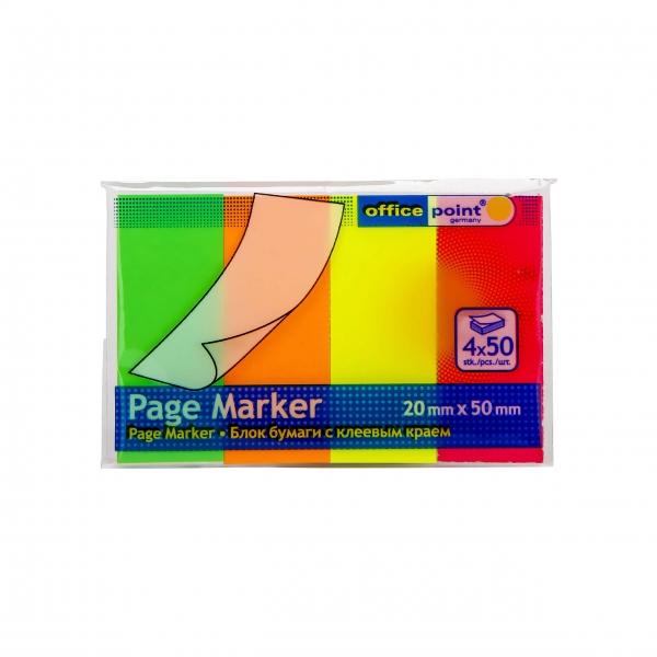 Pagemarker 20x50 neon