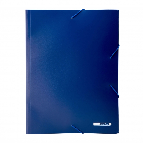 Eckspannmappe A4 blau