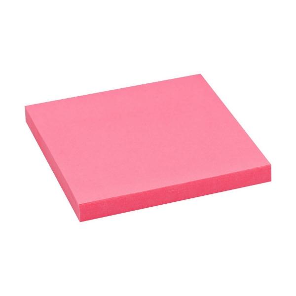 Haftnotizen 75x75 neon pink | 80 Blatt