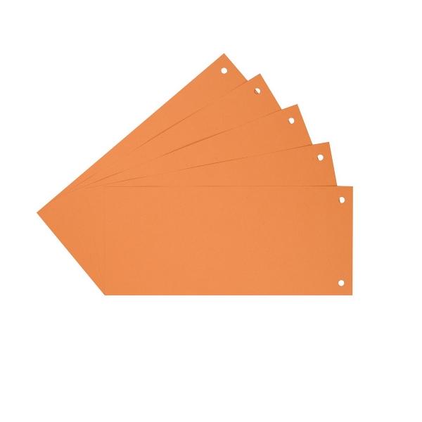 Trennstreifen Trennblätter orange | 100 Stück