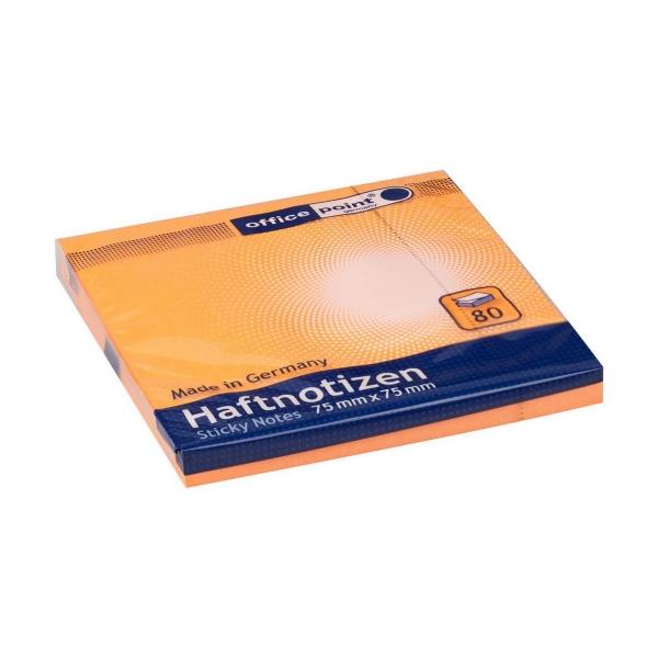Haftnotizen 75x75 neon orange