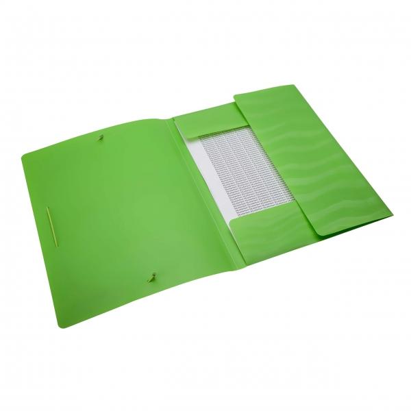 Eckspanner A4 neon grün