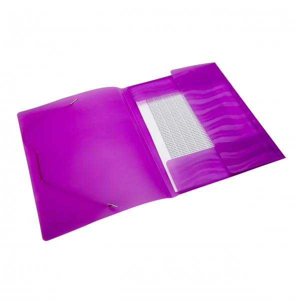 Eckspanner A4 neon violett